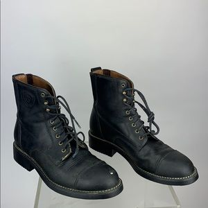 Ariat Leather Combat Boots Style 59205